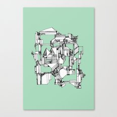 Tea Sandwich City Canvas Print