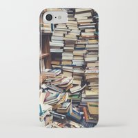 bookworm iPhone & iPod Cases featuring Bookworm by Lori Ratia
