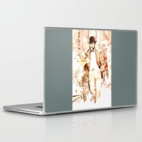 vienna Laptop & iPad Skins featuring The Fiaker in Vienna by Vargamari