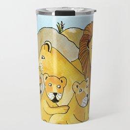 Noah's Ark - Lion Travel Mug