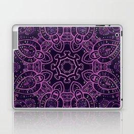 Purple Eggplant Paisley Mandala Laptop & iPad Skin