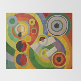 """Robert Delaunay """"Rythme, Joie de vivre"""" Throw Blanket"""