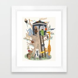 little playhouse Framed Art Print