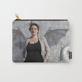Kaylin with Bat Wings Carry-All Pouch