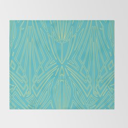 Pinstripe Pattern Creation 11 Throw Blanket