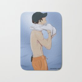 jackson wang Bath Mat