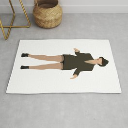 Val from Broad City Rug