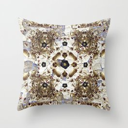 Nightshade and Black Hellebore Throw Pillow