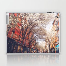 NYC Cherry Blossoms on the Lower East Side Laptop & iPad Skin