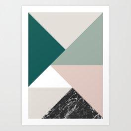 Tangram Art Print