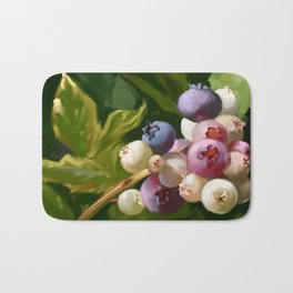 Blueberries Bath Mat