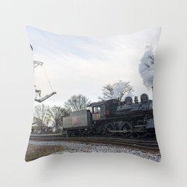 Strasburg Railroad Series 19 Throw Pillow