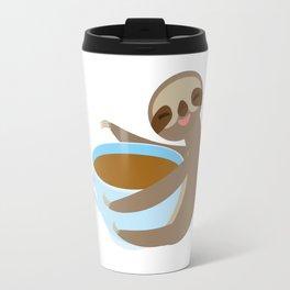 sloth & coffee 2 Travel Mug