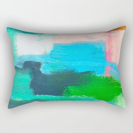 Pacific Ocean, No. 1 Rectangular Pillow