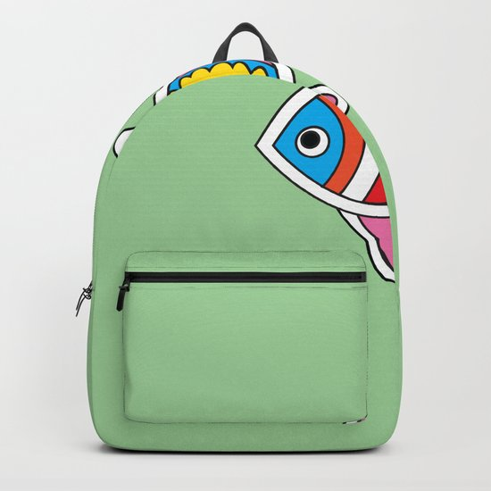 Color fish 1 Backpack