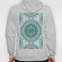 Supernova-In Teal, Aqua, & Mint Hoody