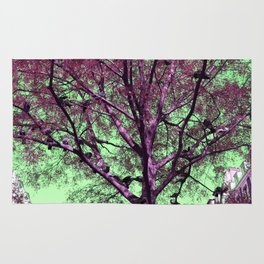 Parisian tree pigeon Rug