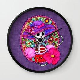 Mexican Catrina Wall Clock