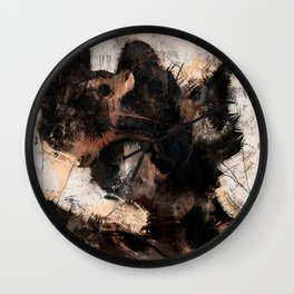 Abstract Universe: Planet #5 Wall Clock
