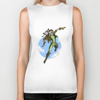 moulin rouge Biker Tanks featuring rouge by batuzer