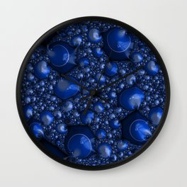 Blueberry Lather Wall Clock
