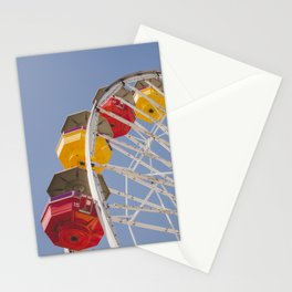 California Wheelin - Santa Monica Pier Stationery Cards