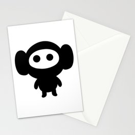 Kawaii Monkey Stationery Cards