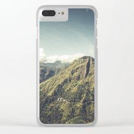 Ella Rock, Sri Lanka Clear iPhone Case