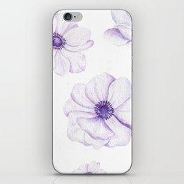Anemones 2 White #society6 #buyart iPhone Skin