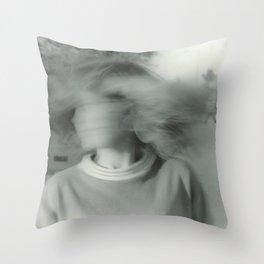 A Blur Throw Pillow