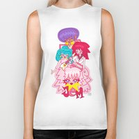 jem Biker Tanks featuring fanart Jem and the Holograms by Lady Love