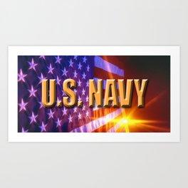 U.S. Navy  Art Print