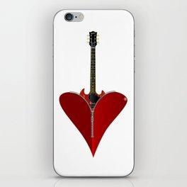 Love Guitar iPhone Skin