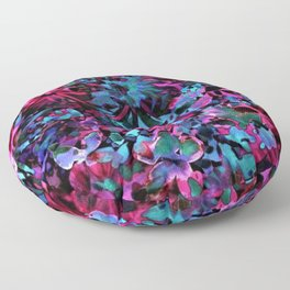 Beautiful multicolor painting Floor Pillow
