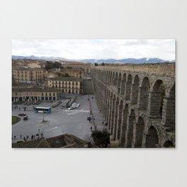 Roman Aqueduct  Canvas Print