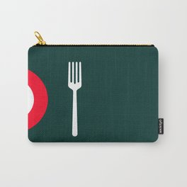 fork and plate Carry-All Pouch