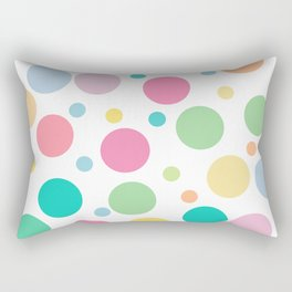bulles de couleur Rectangular Pillow