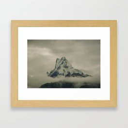 The Call of the Mountain 002 Framed Art Print