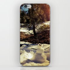 Mini snowman. iPhone & iPod Skin