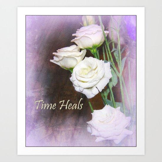 Time Heals  Art Print