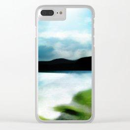 """Almeria Beach - Coast of Spain"" (Cabo de Gata) Clear iPhone Case"