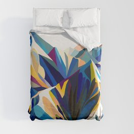 Mountains cold Duvet Cover