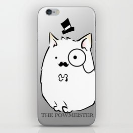 The Powmeister iPhone Skin