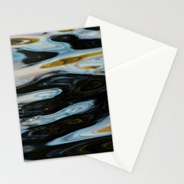 Abstract Water Surface Stationery Cards