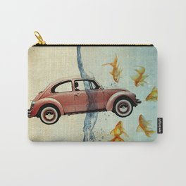 Bug and goldfish Carry-All Pouch