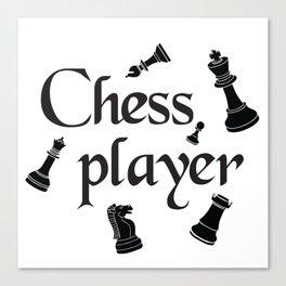 Chess player Canvas Print