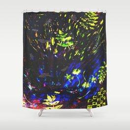 Illuminate Light Shower Curtain