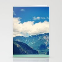 diablo Stationery Cards featuring Diablo Lake by SarahS