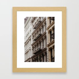 soho is for lovers Framed Art Print