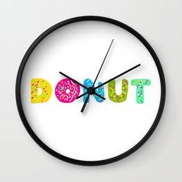 Donut by Kireiina Wall Clock